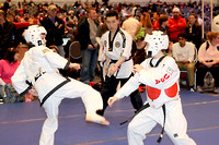 Taekwondo competition at the Arnold sports festival